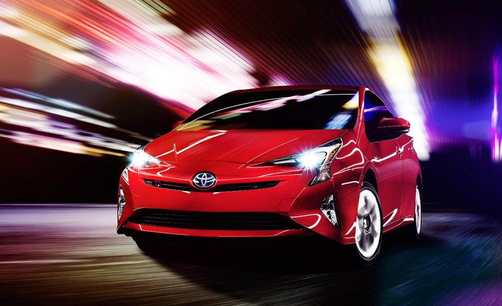 2016 Toyota Prius Front View