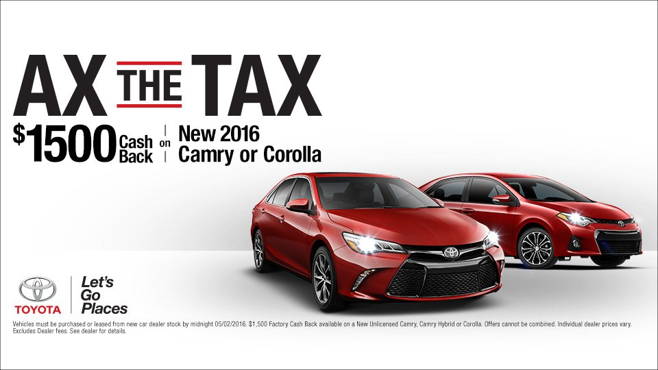 Perfect Itu0027s Time To Ax The Tax At Marina Del Rey Toyota! | Marina Del Rey Toyota
