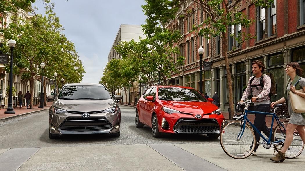 2017 Toyota Corolla models