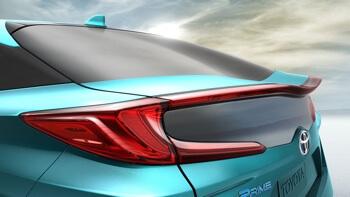 2017 Toyota Prius Prime up close