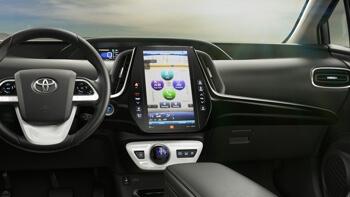 2017 Toyota Prius Prime interior technology