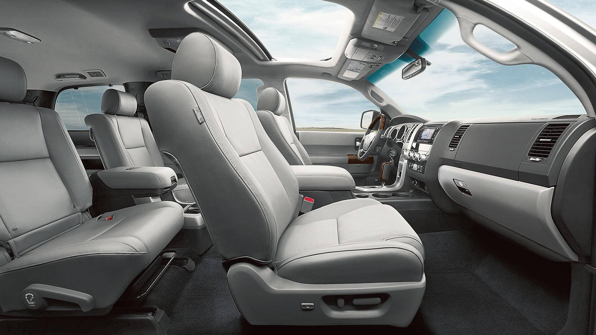 2017 Toyota Sequoia Seats