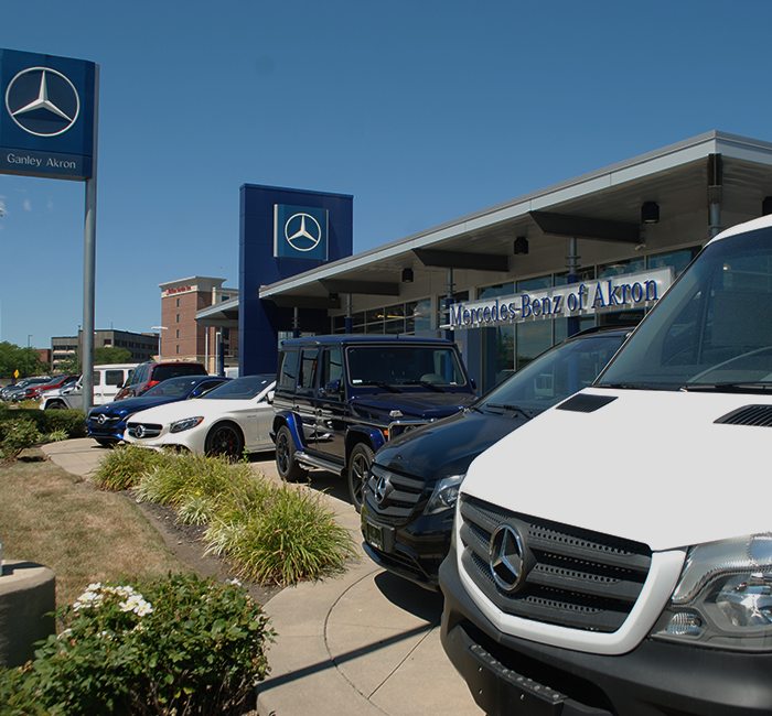 Mercedes benz dealer by canton oh mercedes benz of akron for Ganley mercedes benz