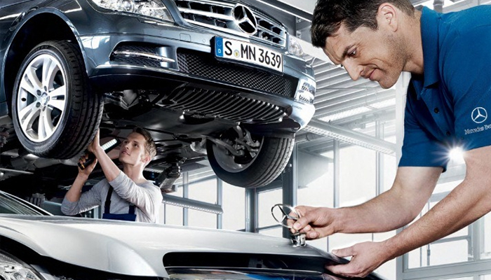 Mercedes-Benz Service Due in Akron Ohio