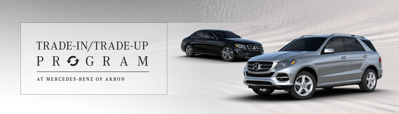 Trade in and trade up at mercedes benz of akron for Mercedes benz dealer akron ohio