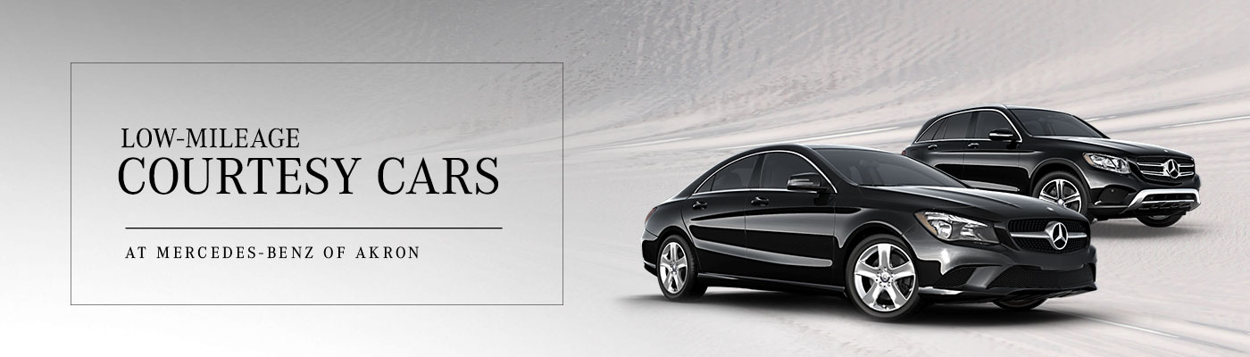 Low Mileage Courtesy Cars For Sale Mercedes Benz Of Akron