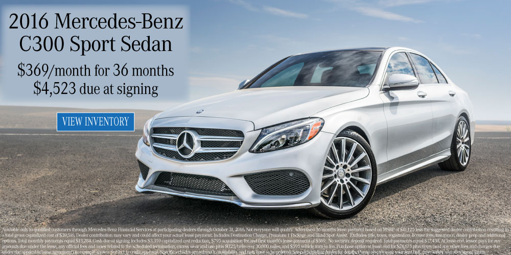 New 2016 october specials mercedes benz of collierville for Mercedes benz college graduate program