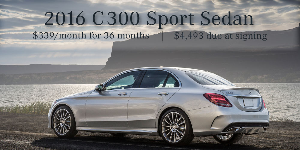 January 2017 new vehicle specials mercedes benz of for Mercedes benz of collierville