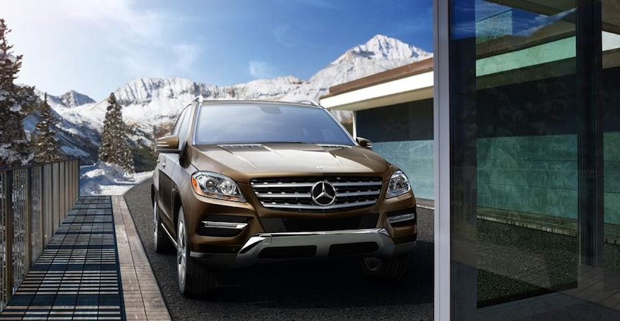 New mercedes benz m class mercedes benz of colorado springs for Colorado springs mercedes benz