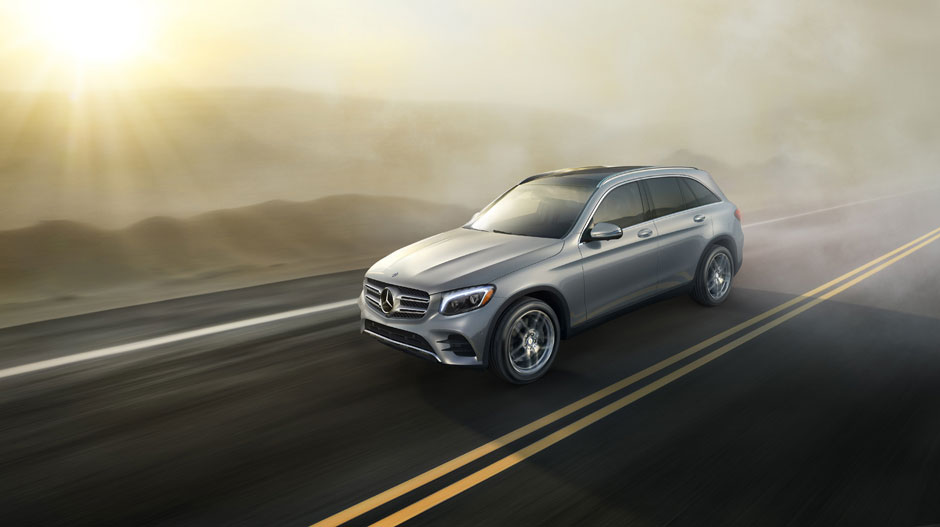 2017 GLC 4Matic Driving