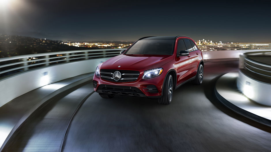 2017 MB GLC300 4Matic Red