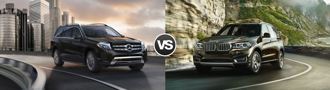 2017 Mercedes-Benz GLS vs 2017 BMW X5