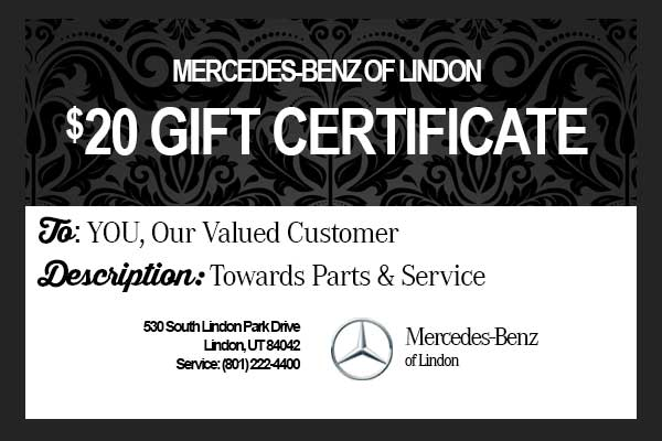 Holiday season thank you mercedes benz of draper for Mercedes benz gifts