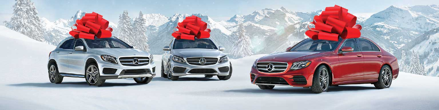 Mercedes-Benz Cars with Bows