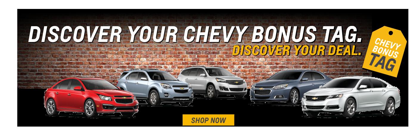 Chevy Bonus Tag Event Banner