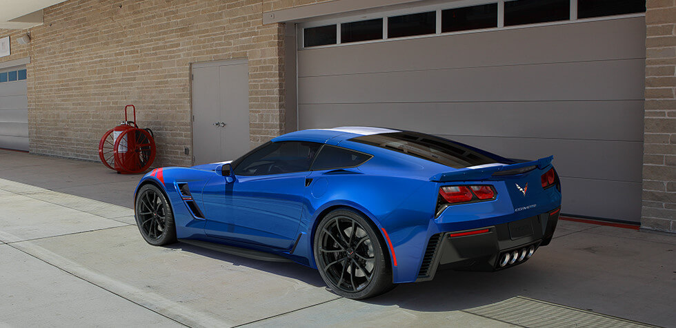 The 2017 Chevrolet Corvette Stingray Grand Sport