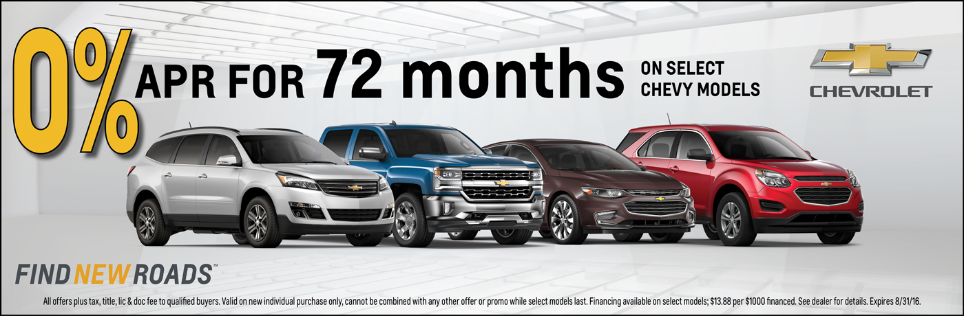 0% APR for 72