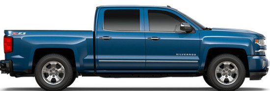 Chevy Truck Showroom