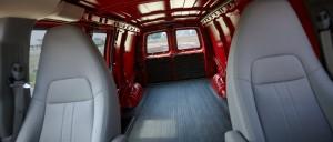 2014 Chevrolet Express Interior cargo space