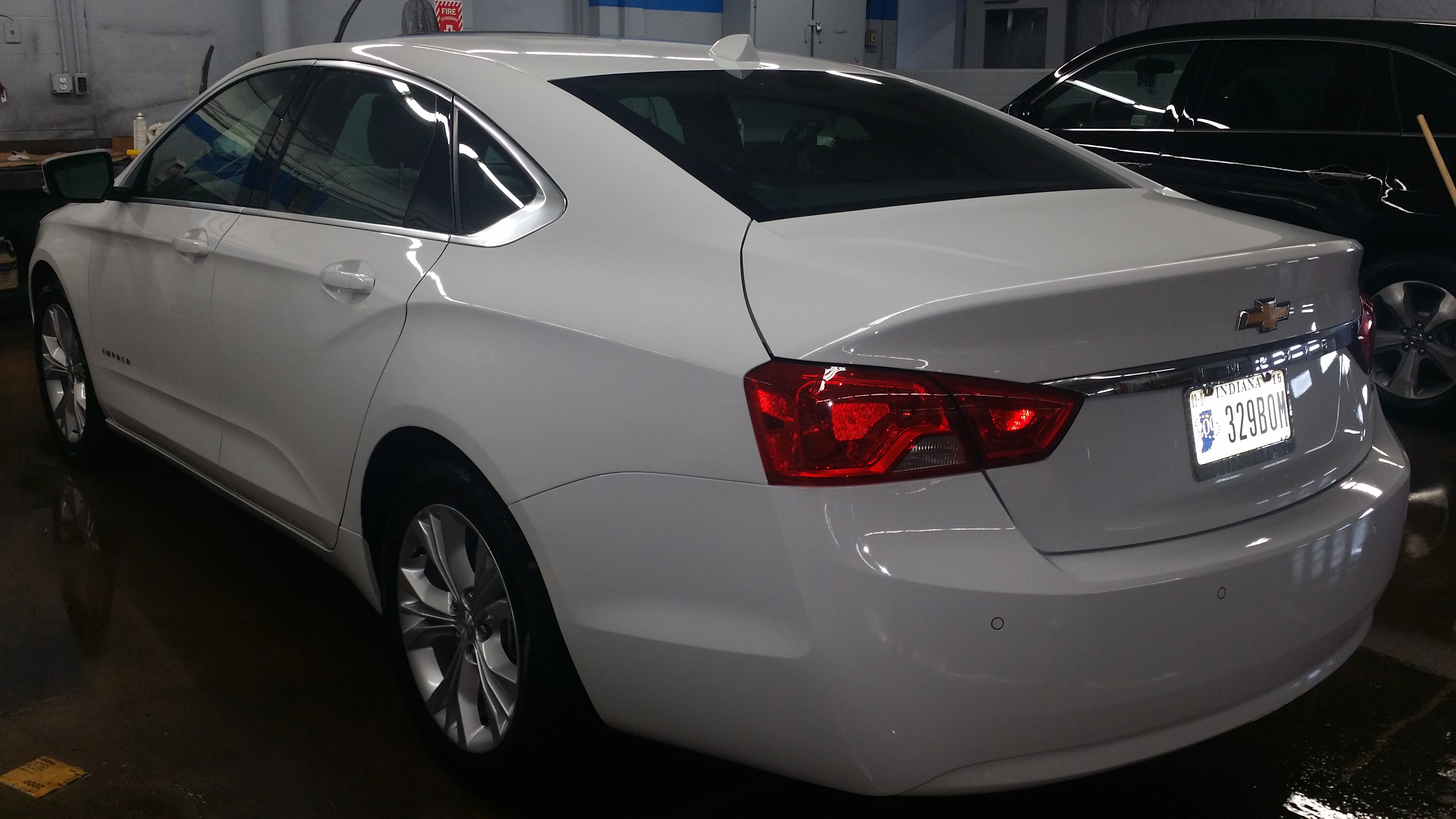 Impala Damage Rear