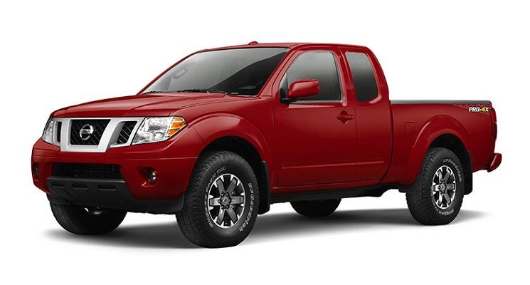 2016 Nissan Frontier Front