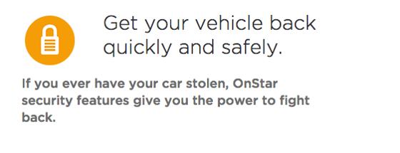 Chevy Onstar