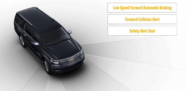 2017 Chevrolet Suburban Safety
