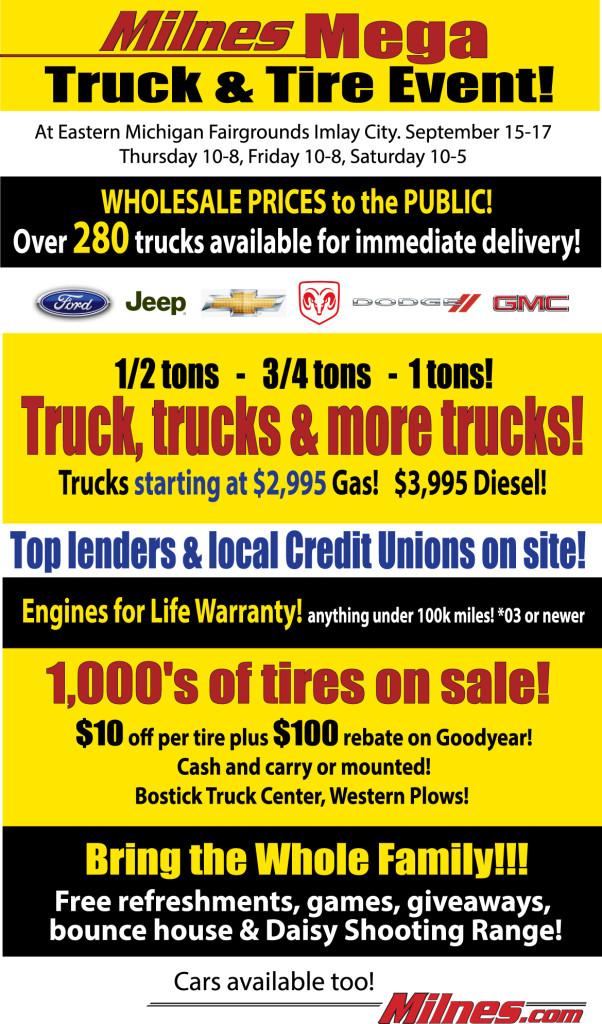TruckMegaTentSale