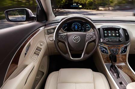 2016 Buick LaCrosse Interior Cabin