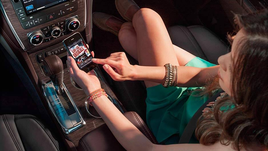 Buick Enclave 4G Wi-Fi Capability