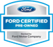 Certified Pre-owned Ford
