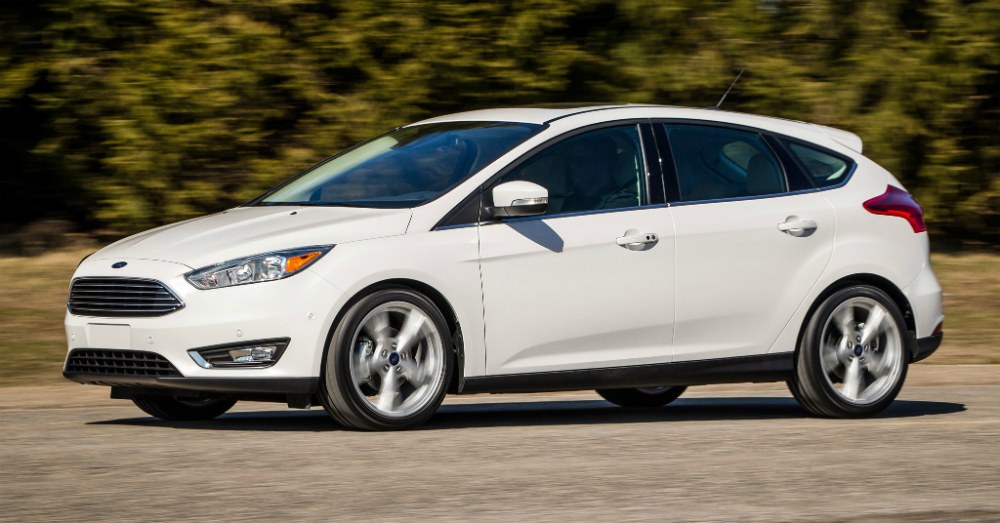 2015 Ford Focus White