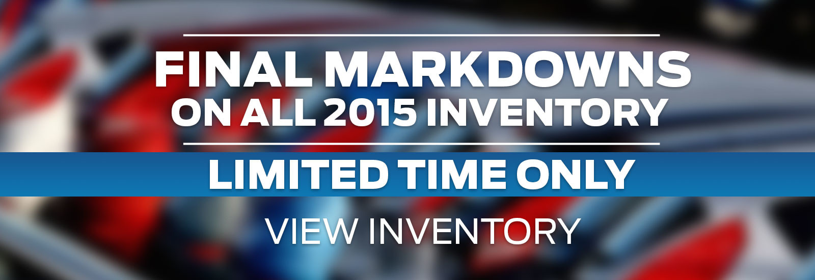 Final Markdown On 2015 Inventory