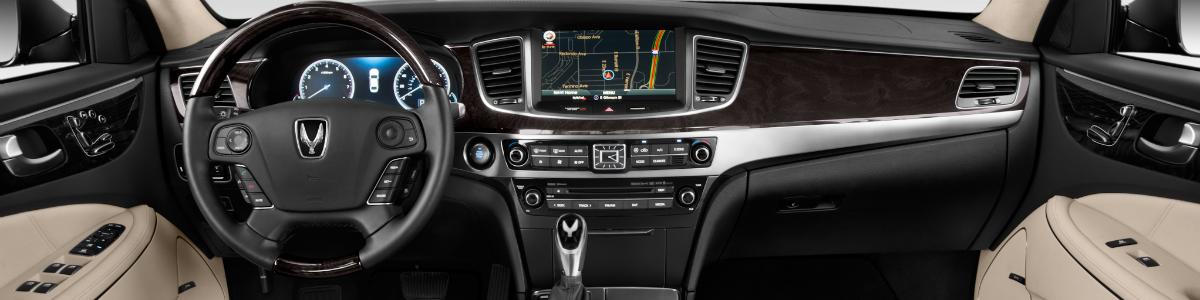 2017 Hyundai Equus Inside