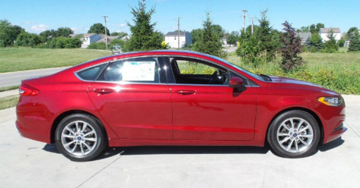2017 Ford Fusion Indy