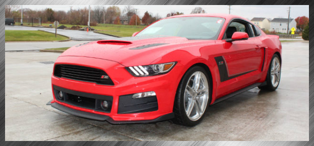 Red Roush Mustang