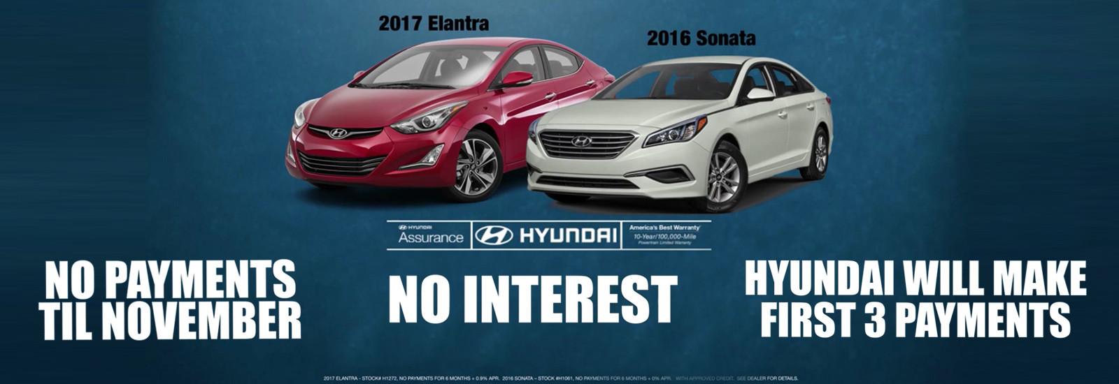 Hyundai Elantra & Sonata