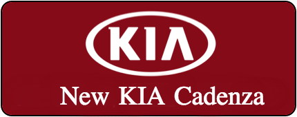 New Kia Cadenza Button