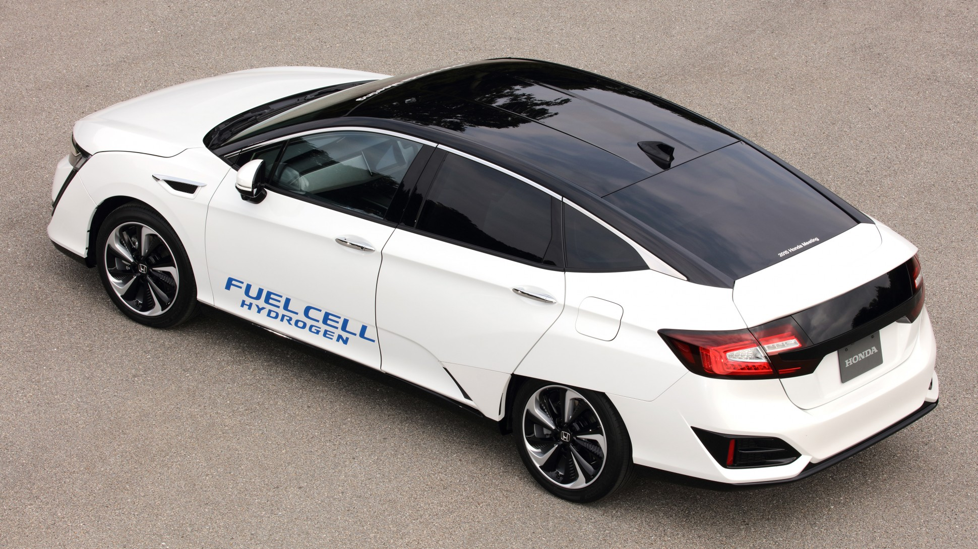 Hondas New Hydrogen Powered Vehicle Feels More Like A Real Car