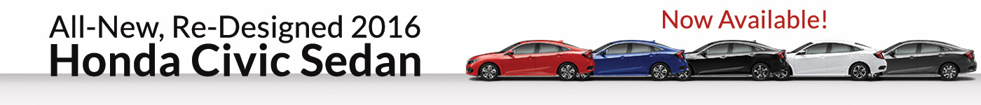 Richards Honda 2016 Civic Pick you color