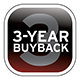 AutoCheck Vehicle History Report and 3 Year Buy Back Protection.