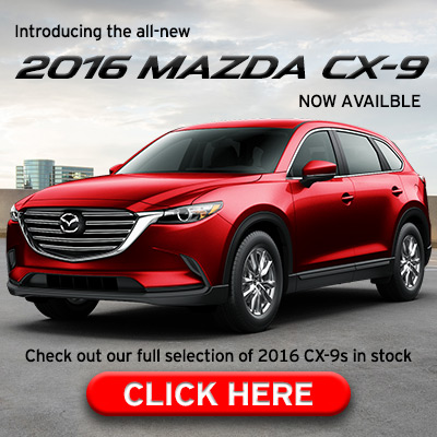 Introducing the all-new 2016 Mazda CX-9 now available at Sport Mazda Orlando.