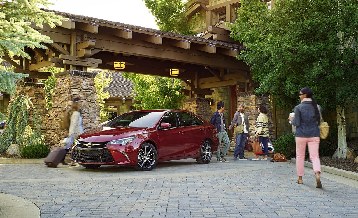 2017 Toyota Camry Red