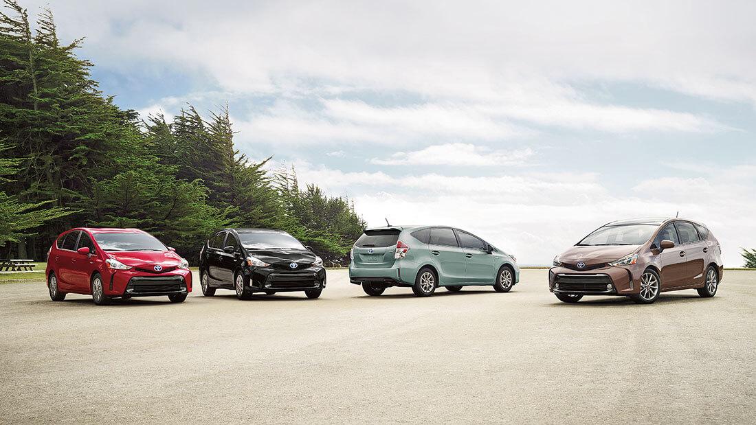2017 Toyota Prius v Group