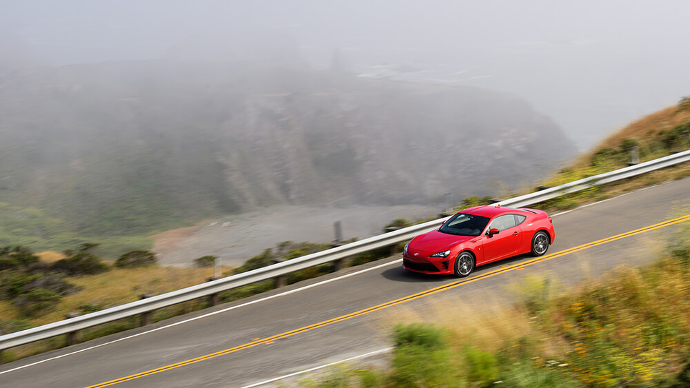 2017 Toyota 86 Driving