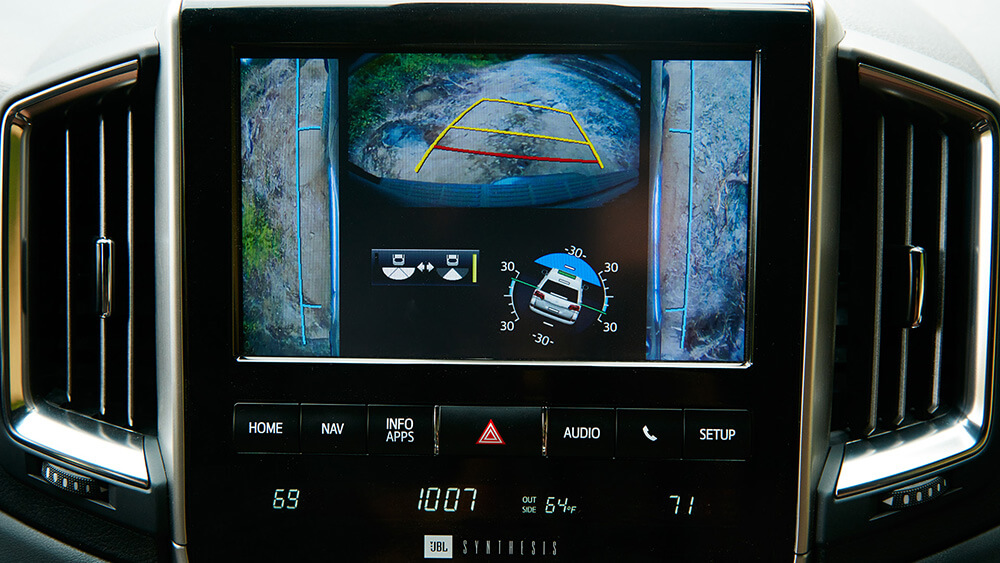 2017 Toyota Land Cruiser Camera