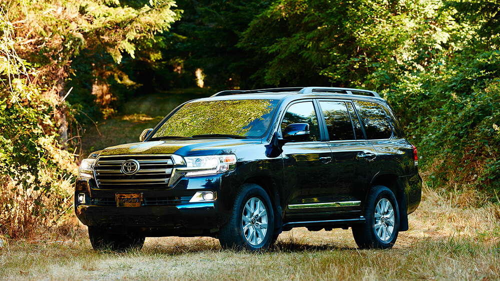 2017 Toyota Land Cruiser Parked