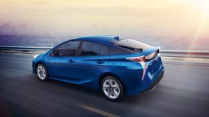 2017 Toyota Prius Blue