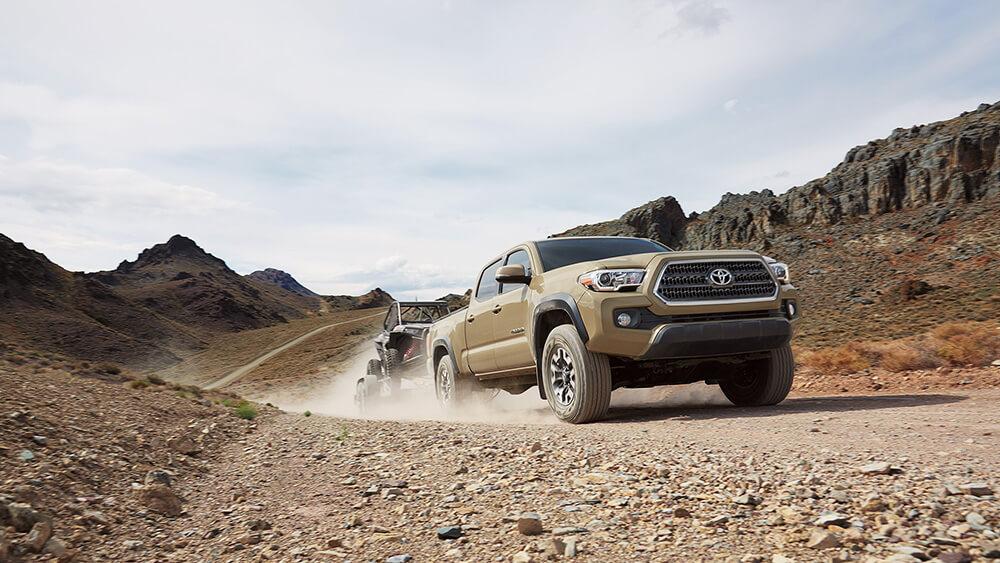 2017 Toyota Tacoma Dusty