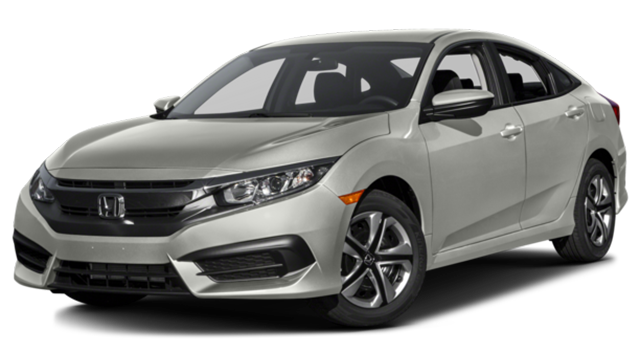 2016 Honda Civic silver